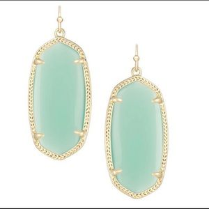 Kendra Scott Elle Drop Earrings in Chalcedony
